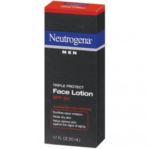 Neotregena triple face protect face lotion