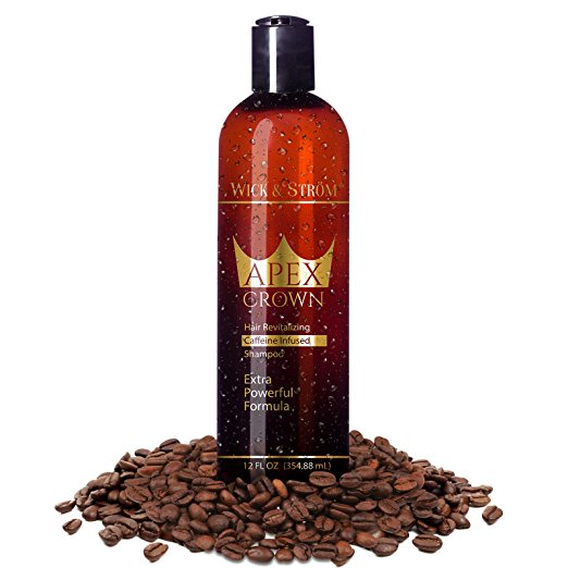 Wick & Ström Natural Anti Dandruff Hair Loss Shampoo: