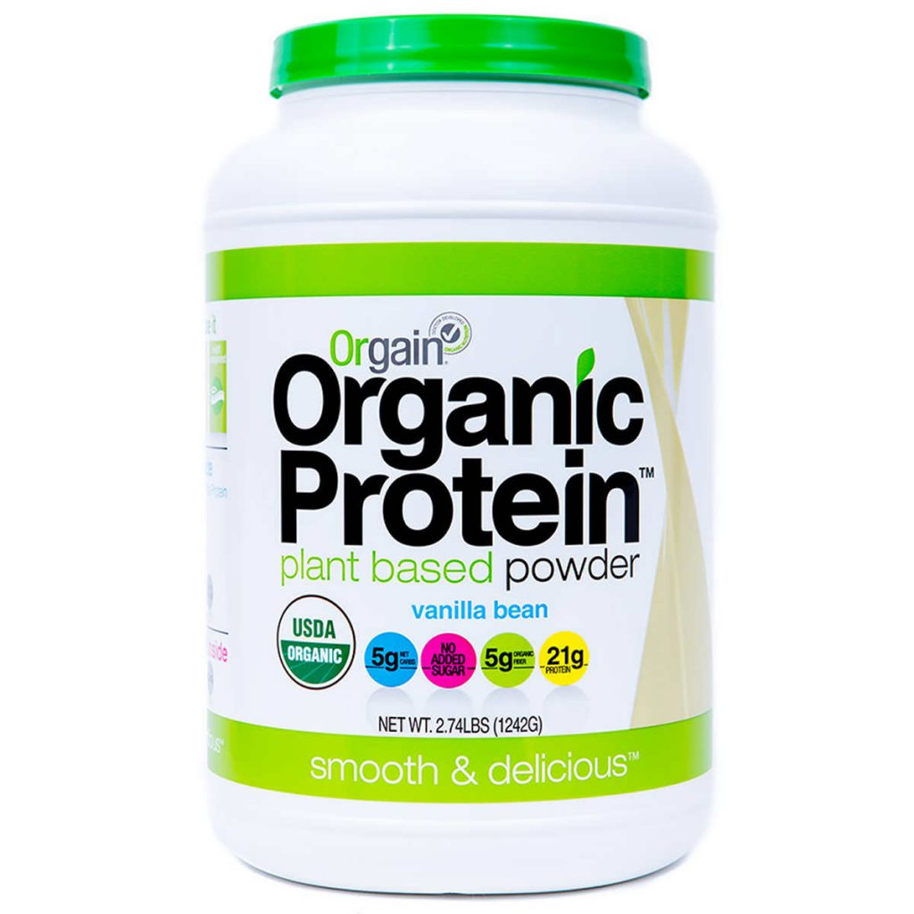 Orgain Organic Protein Powder Costco